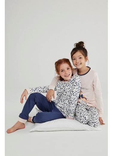 Penti Kız Çocuk Leopard 4Lü Pijama Takımı Renkli